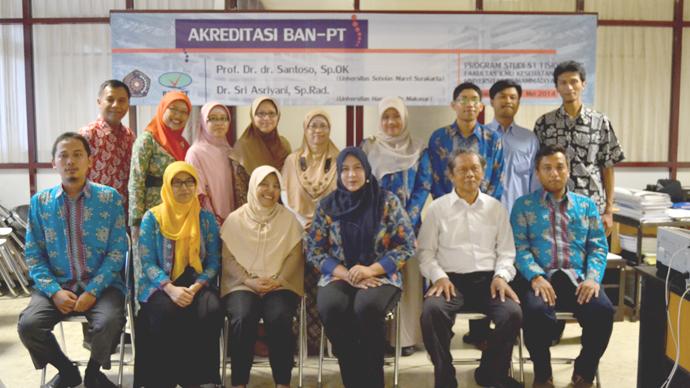 Visitasi Akreditasi Program Studi Fisioterapi