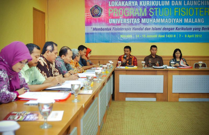 Lokakarya & Launching Program Studi Fisioterapi